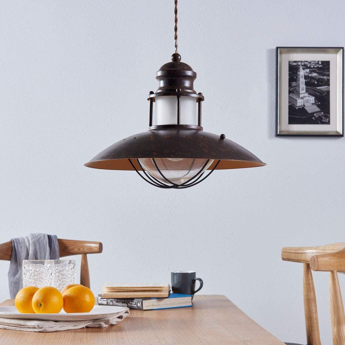Maritime Pendel Und Hangeleuchten Von Lindby Braun Lampen Pendellampen Und Beleuchtung Decke