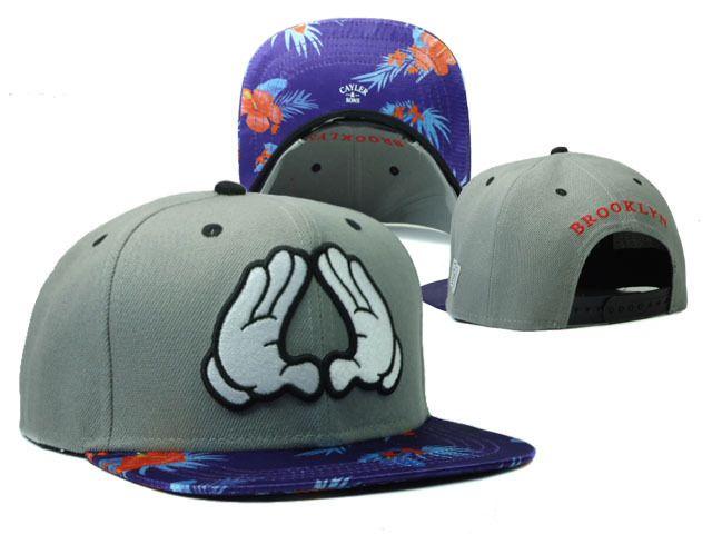 Newest Cayler & Sons snapback caps men & women's designer adjustable hats blue snakeskin $9.99