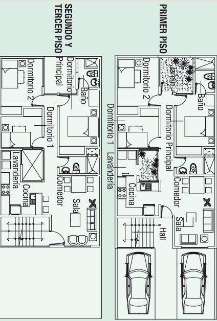 Planos para construir 3 apartamentos en 130m2 via www for Ideas de casas para construir