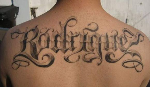 Excellent tattoo lettering examples tattoo tattoo alphabet