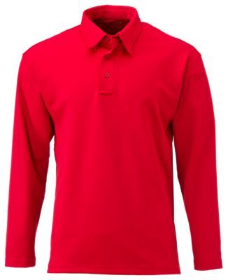 Propper I.C.E. Performance Long-Sleeve Polo for Men - Red - 2XL
