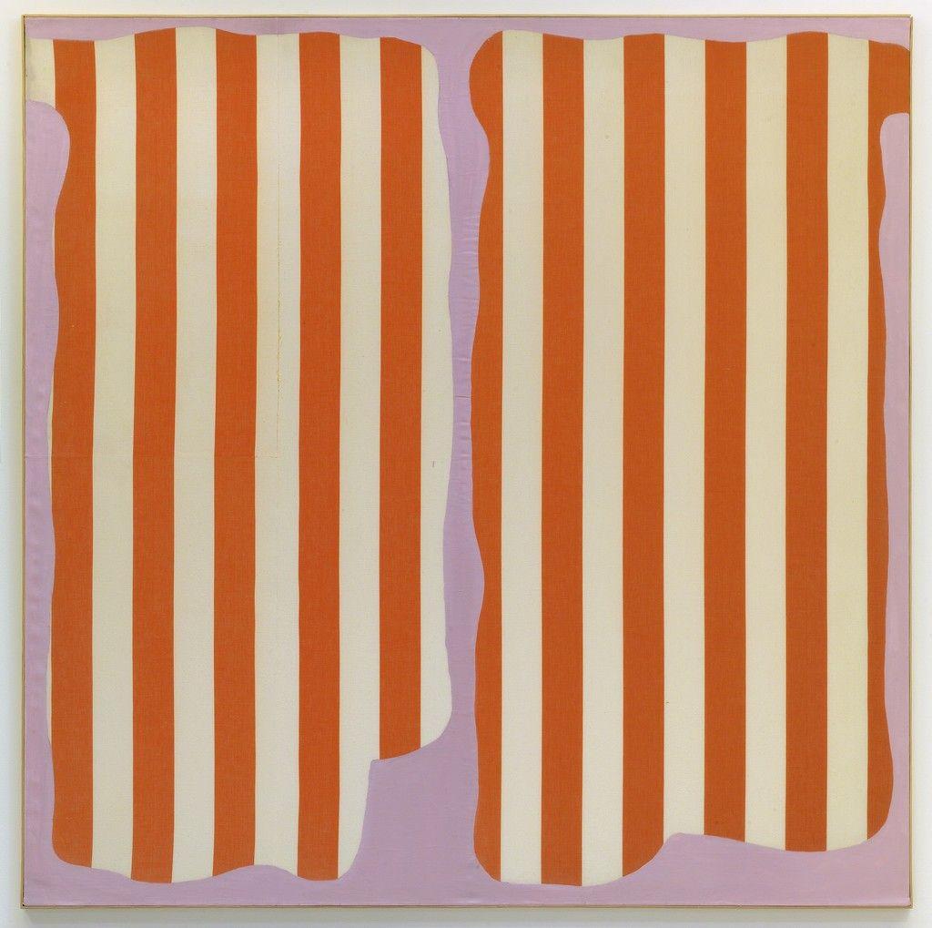 Daniel Buren, '« Photo-souvenir » : Peinture aux formes variables,' June 1966, kamel mennour