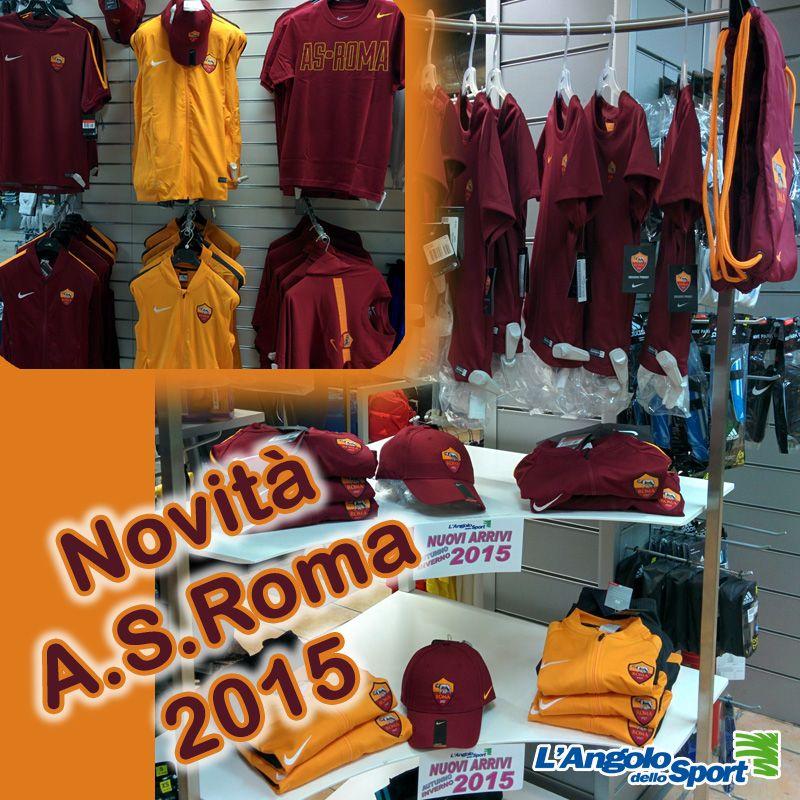 E' arrivato l'abbigliamento A.S #Roma 2015 by #Nike! Cosa aspetti? Vieni a provarlo!