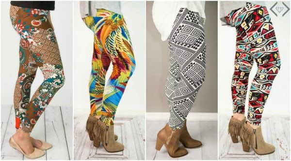 Graphic Leggings Only $7.95 + FREE Shipping! Today Only!