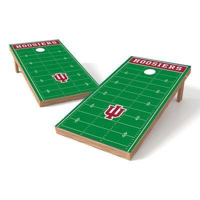 Tailgate Toss NCAA Football Field Cornhole Game Set NCAA Team: