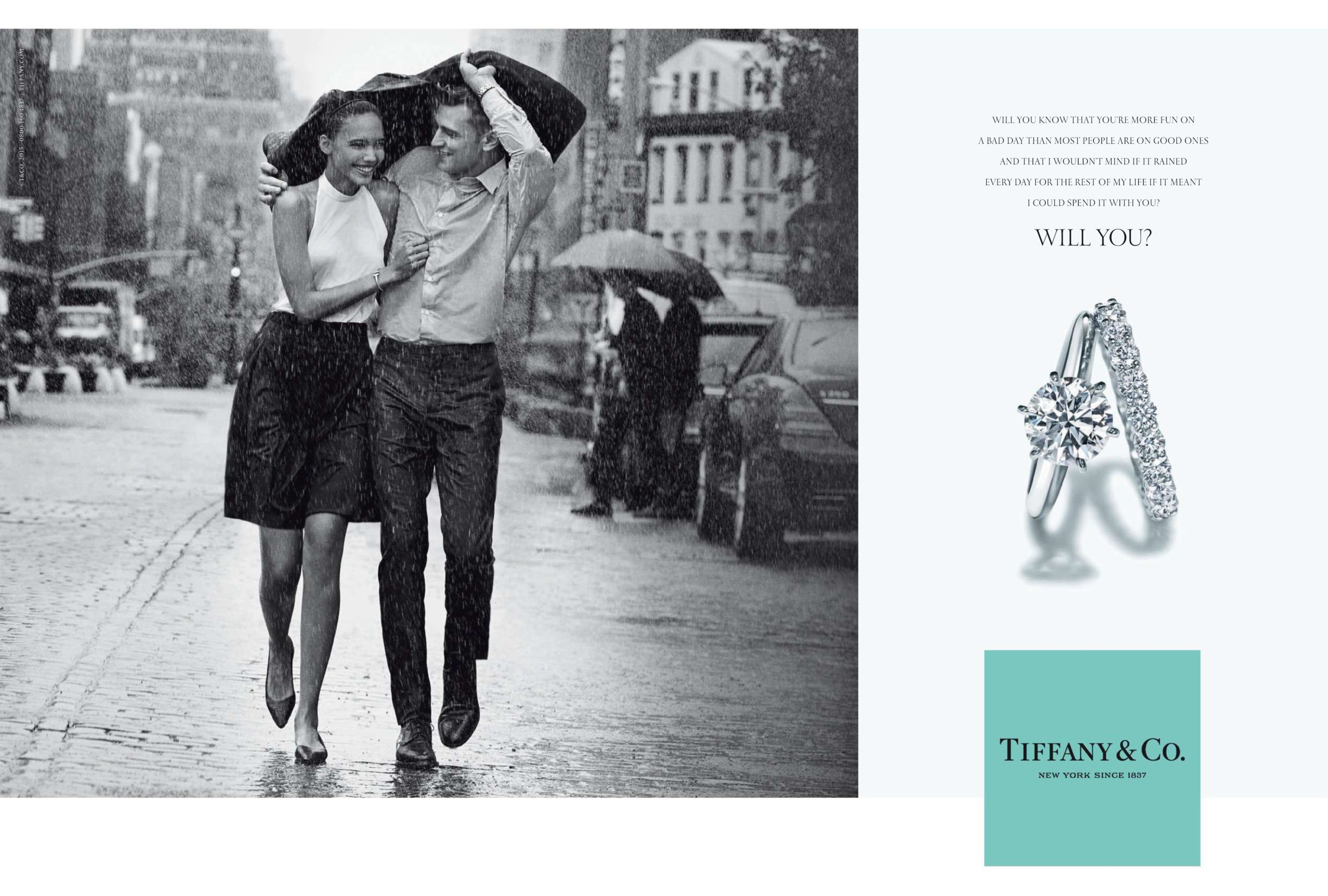 Tiffany Co Ad Will You By Peter Lindbergh
