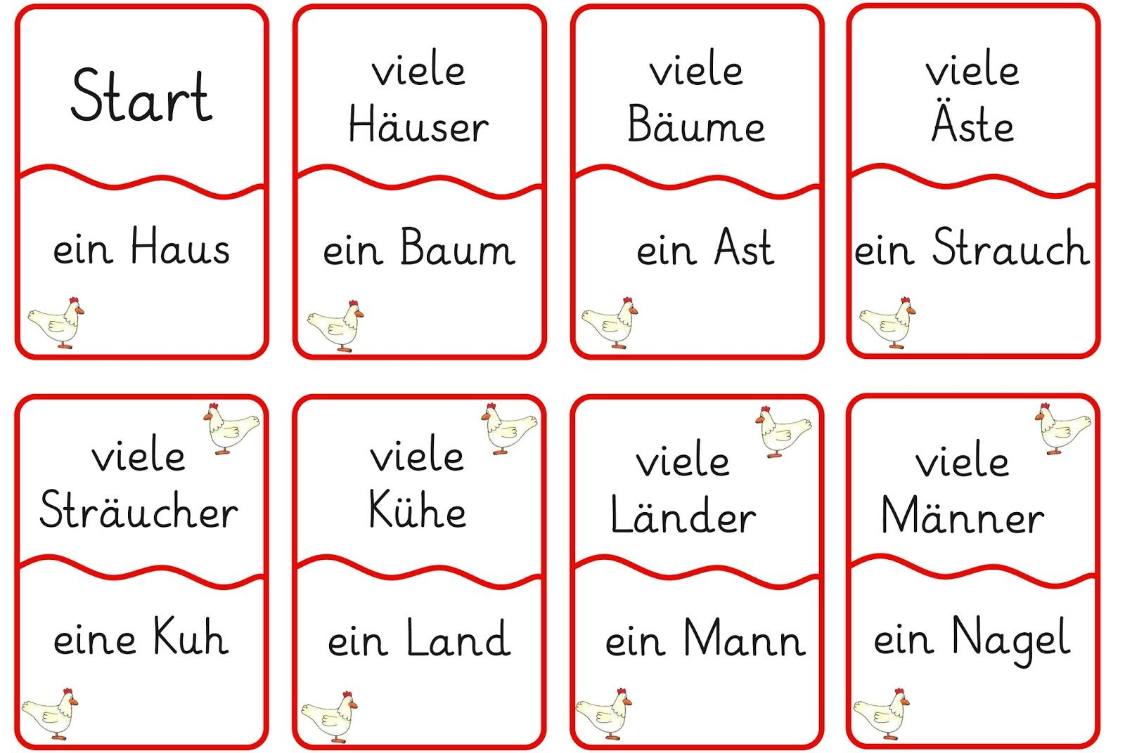 lernst bchen lesespiel 2 daz ideen lesespiele deutsch unterricht und deutsch lernen. Black Bedroom Furniture Sets. Home Design Ideas
