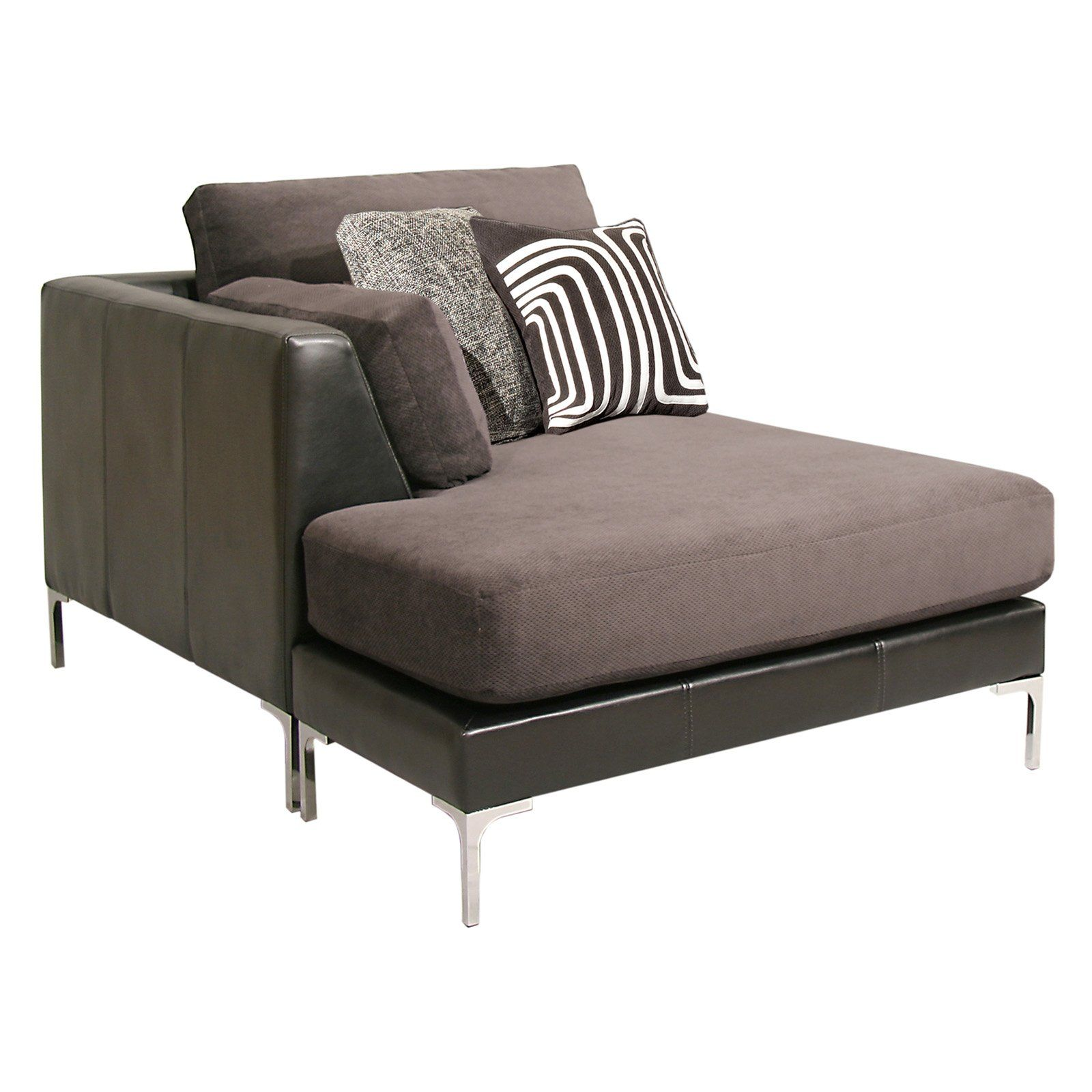 Fairmont contemporary 1 arm chaise chaise lounge indoor