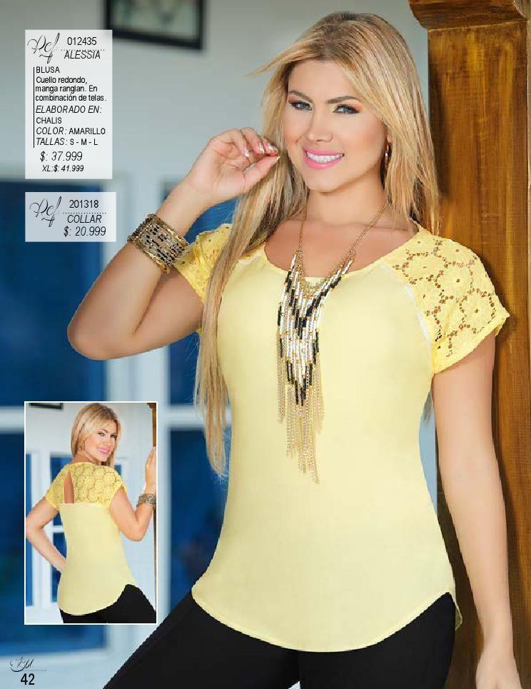 Pdf Ed 30 Moda Moda Feminina Blusas Femininas Da Moda