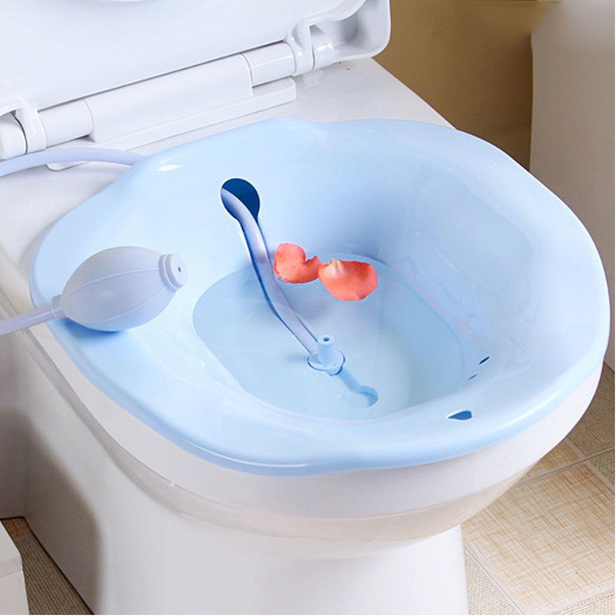 Hemorrhoids Therapy Sitz Bath Toilet Bidet Tub Pregnant Woman ...