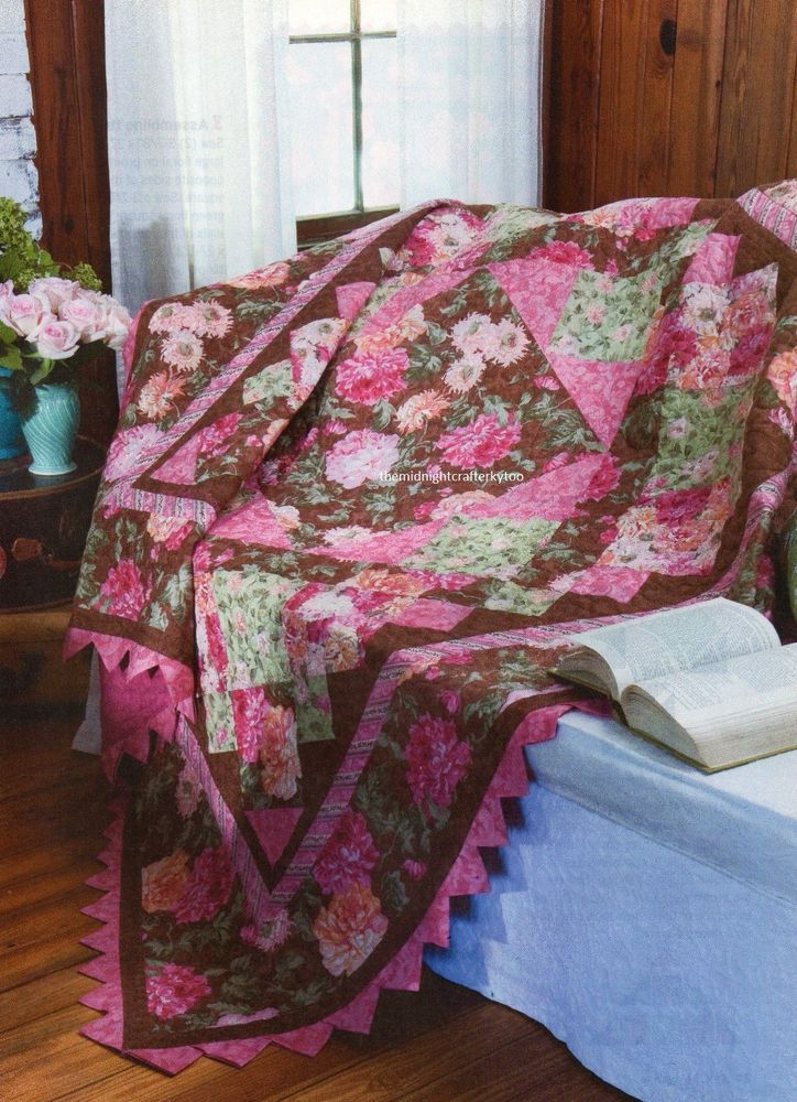 Gone With The Wind Quilt Pattern Pieced WP