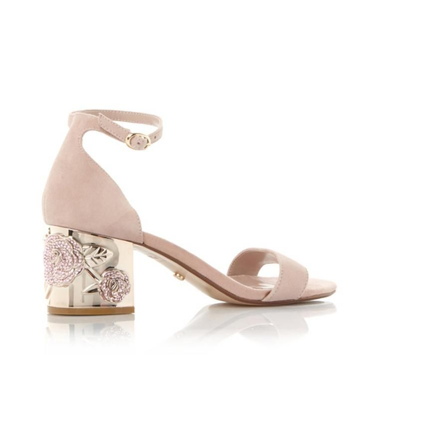 80089e13800 MAYGO - Rose Embellished Block Heel Sandal in 2019 | sweet digs ...