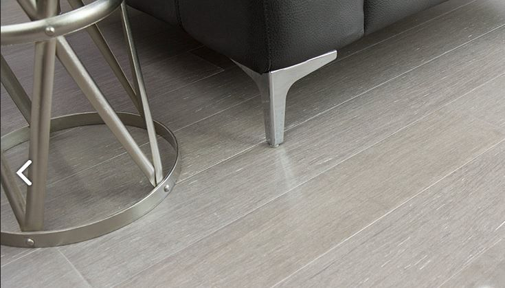 Grey Bamboo Floor Solid Strand Woven Bamboo Flooring That Has The