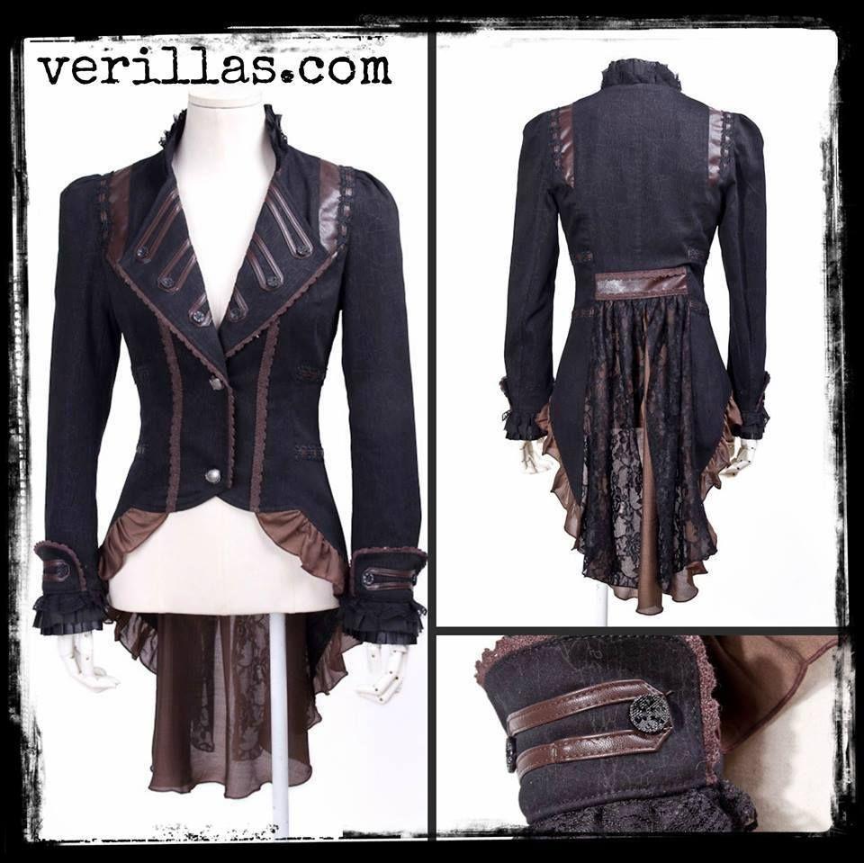 Steampunk coat, jacket <3