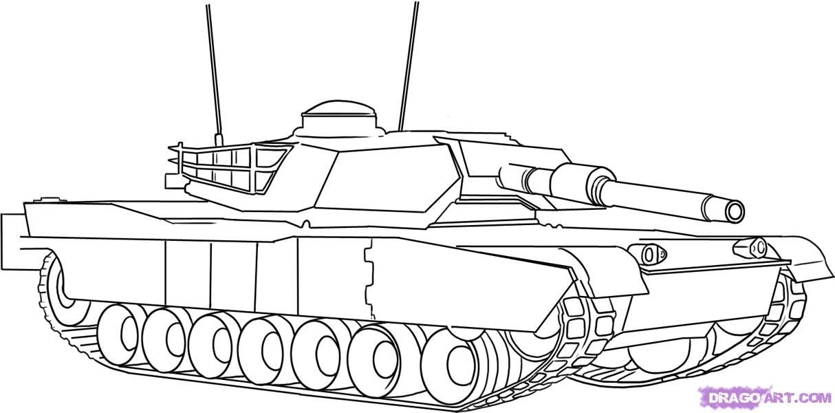 Pin By Efrat Blau On 0 Tank Drawing Coloring Pages Kids Tanks