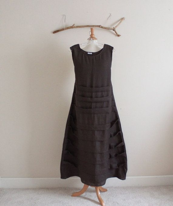 custom  linen pleats dress by annyschooecoclothing on Etsy, $163.00
