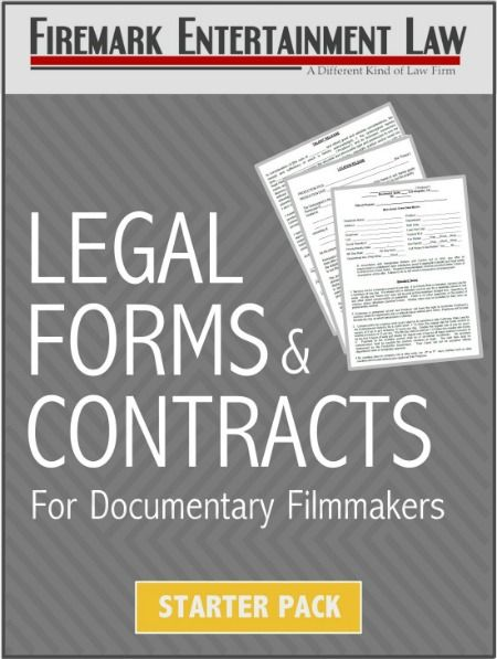 Legal Forms Contracts For Documentary Filmmakers Filmmaking - Legal forms contracts