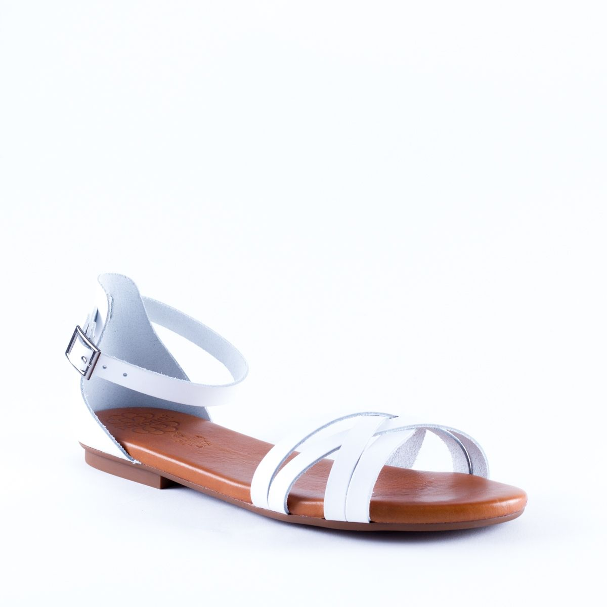 Chaussures à bout rond Porronet blanches femme 4yxNruv