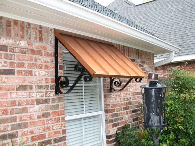 Metal Awnings Metal Awning Outdoor Awnings Backyard Canopy
