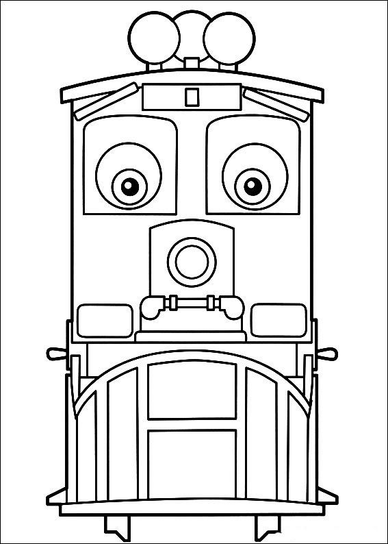 Chuggington 20 Coloring Page