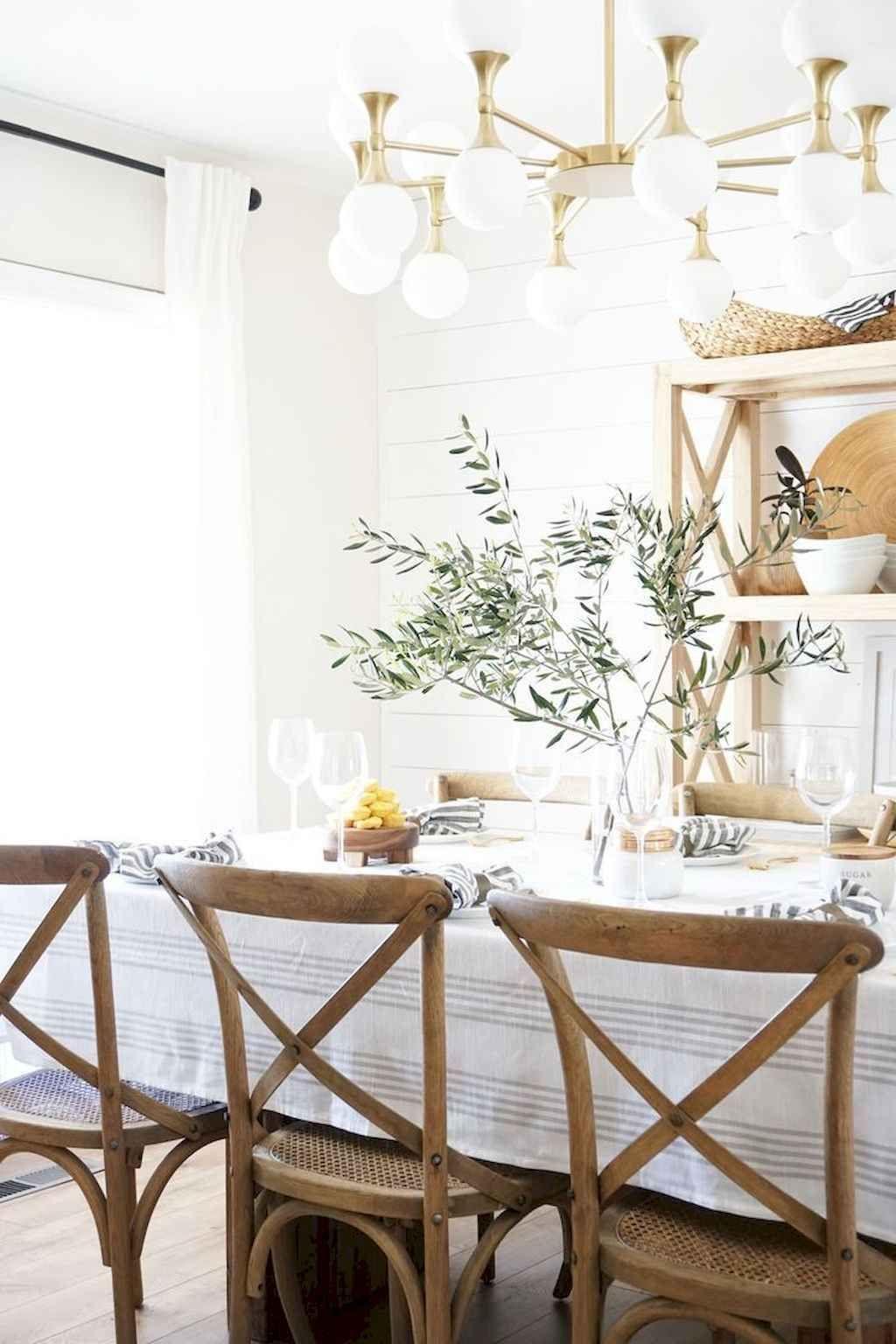 60 Farmhouse Style Dining Room Table and Decor Ideas
