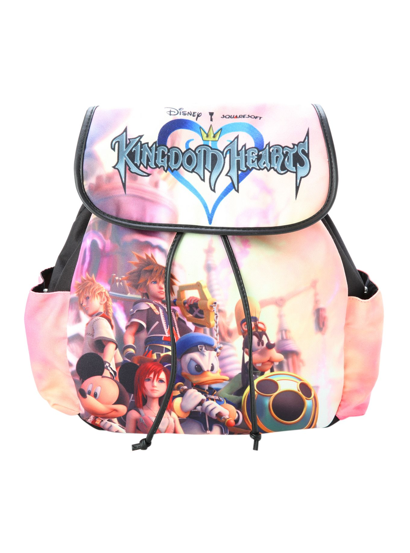 abf2c636dd3 Disney Kingdom Hearts Group Slouch Backpack