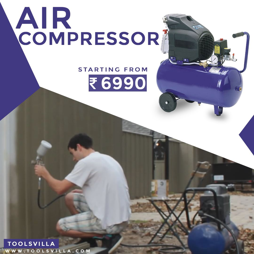 Get Exclusive Offers On Air Compressors Only at Toolsvilla