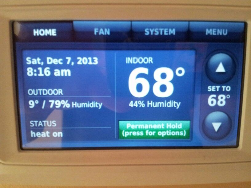 Honeywell Prestige Thermostat Heating And Air Conditioning