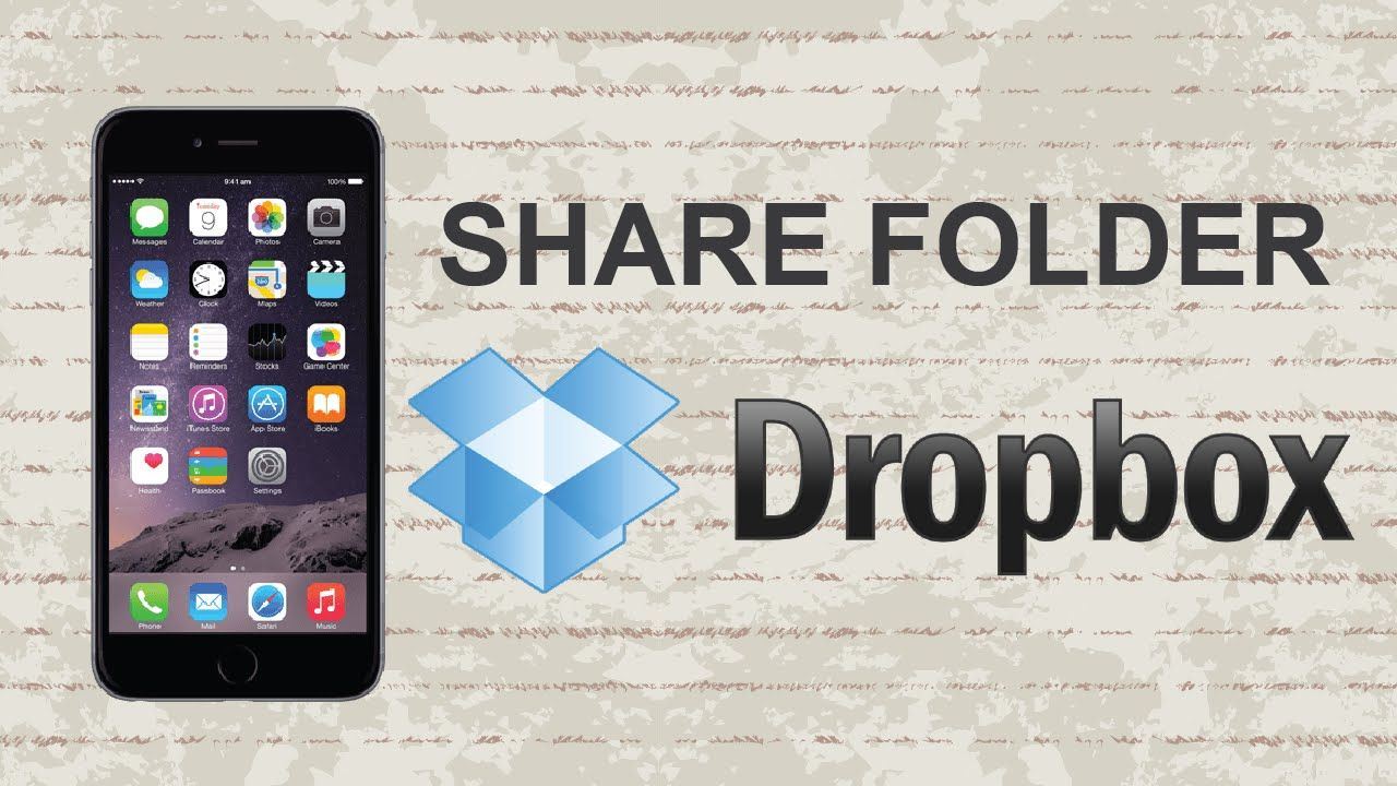 How to share a folder on Dropbox Mobile App dropbox