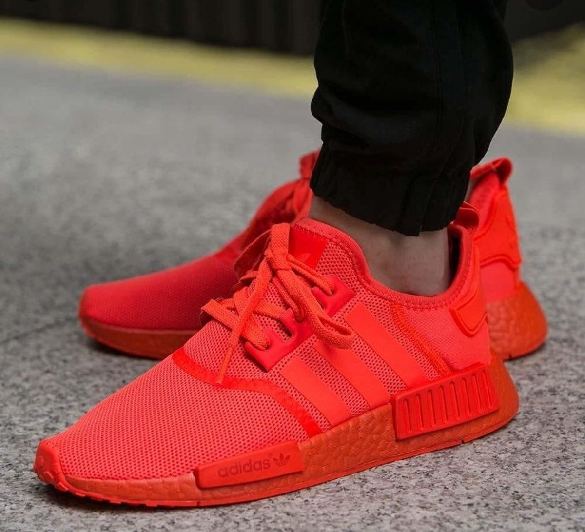 Adidas solar red nmd in 2020 | Red