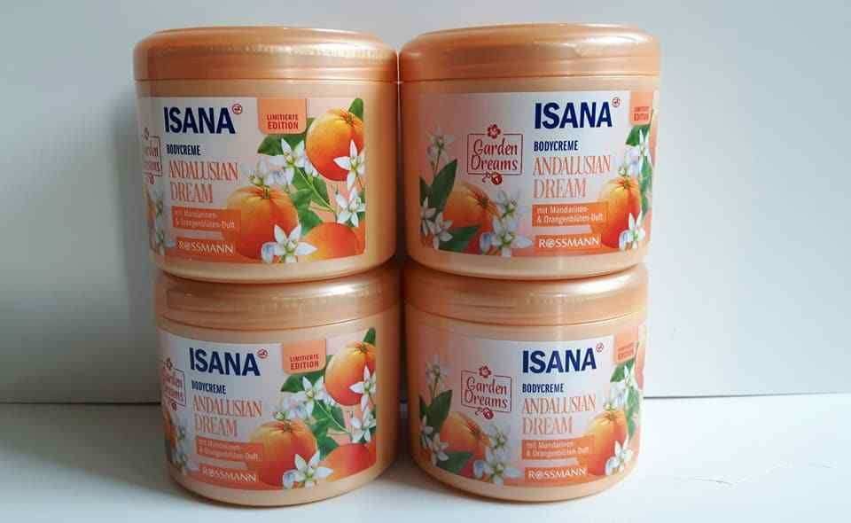 Isana Bodycreme Andalusian Dream 4x 500ml Ebay
