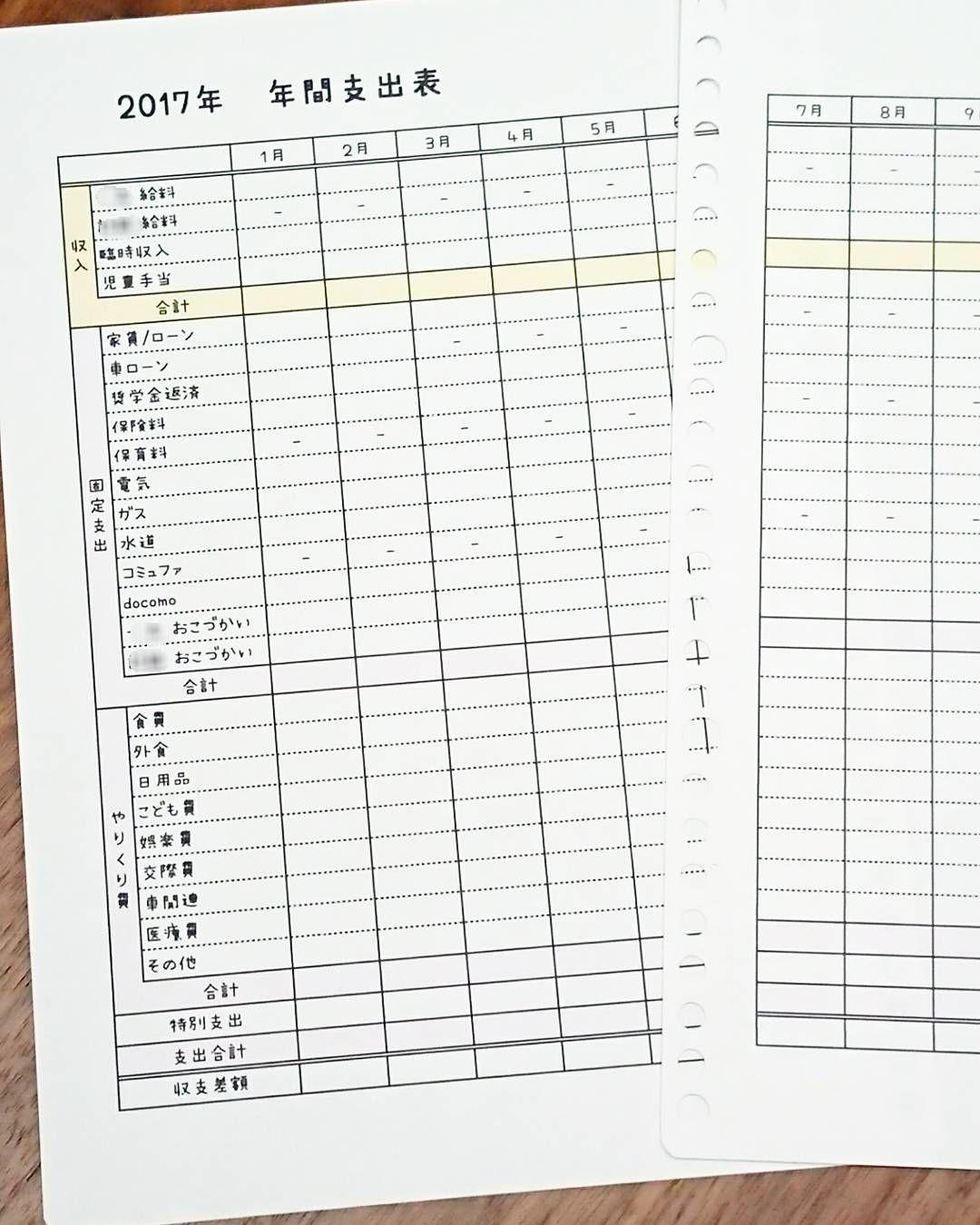 またまた久しぶりの投稿です 家計簿ちゃっちゃと作って軌道にのせ