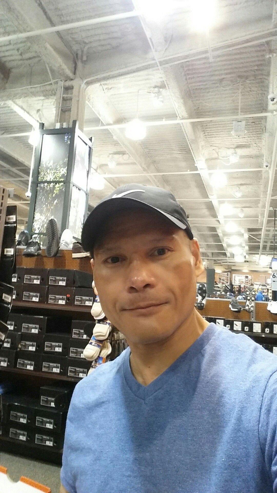 Manuel Manny Villarosa In Dicks Sporting Good Store At The Fashion Show Mall Las Vegas Nevada