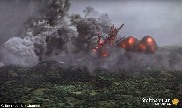 Deadly: A massive volcano eruption in El Salvador in 535 AD spread ash into the atmosphere, obscured the sun and ruined harvests - meaning that Britons were left starving.  It is now suggested that this was the reason King Arthur went into battle to save the people of the Strathclyde - the fight for food resources not gold or land... great article.