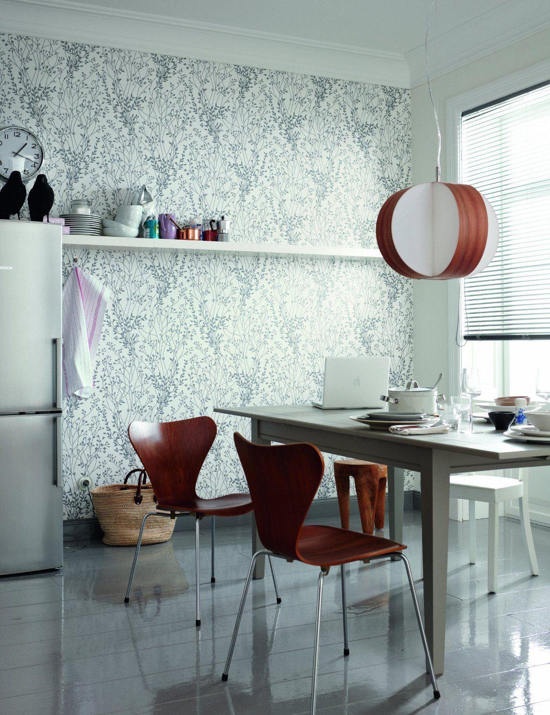 Schöner Wohnen 151445 Vliestapete Mustertapete Weiß Silberfarben
