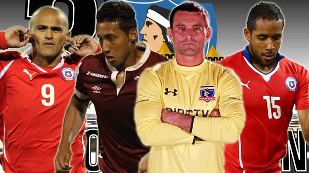 Christofer Gonzales a Colo Colo: con estos mundialistas jugará en el 'Cacique'. July 03, 2015.
