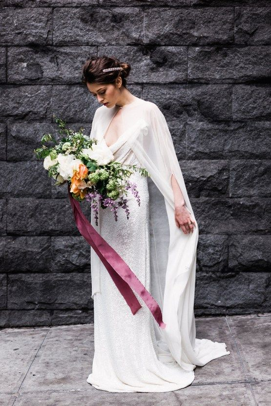 Release your inner goddess bride with this sparkling NYC bridal ...