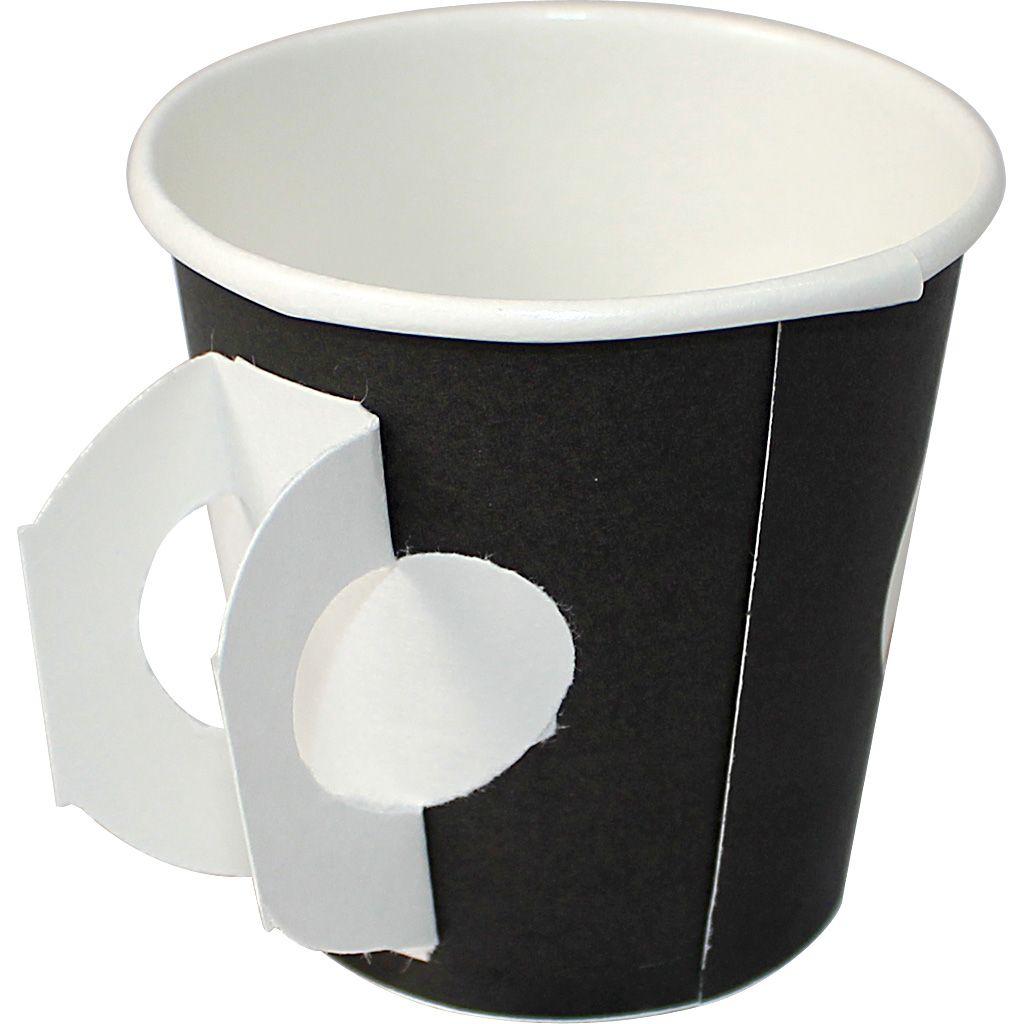 Segafredo Zanetti Paper Cups 4 Fl Oz 1000 Case W Handle