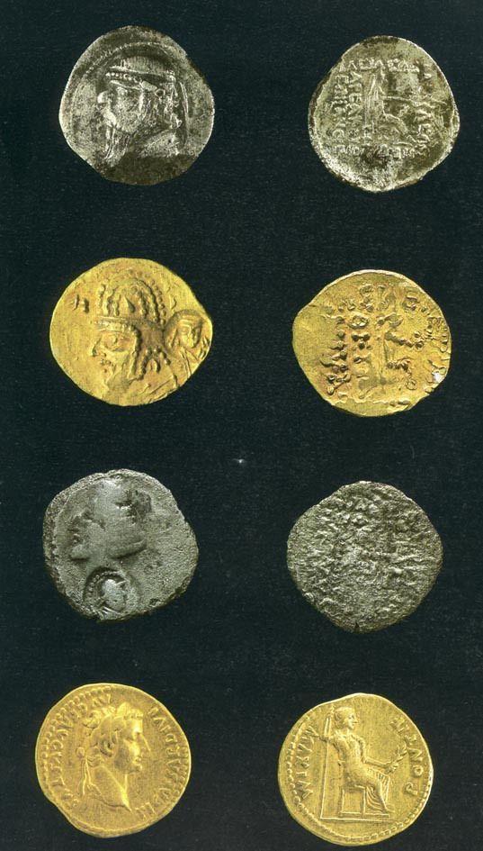 Monety z Tillya Tepe