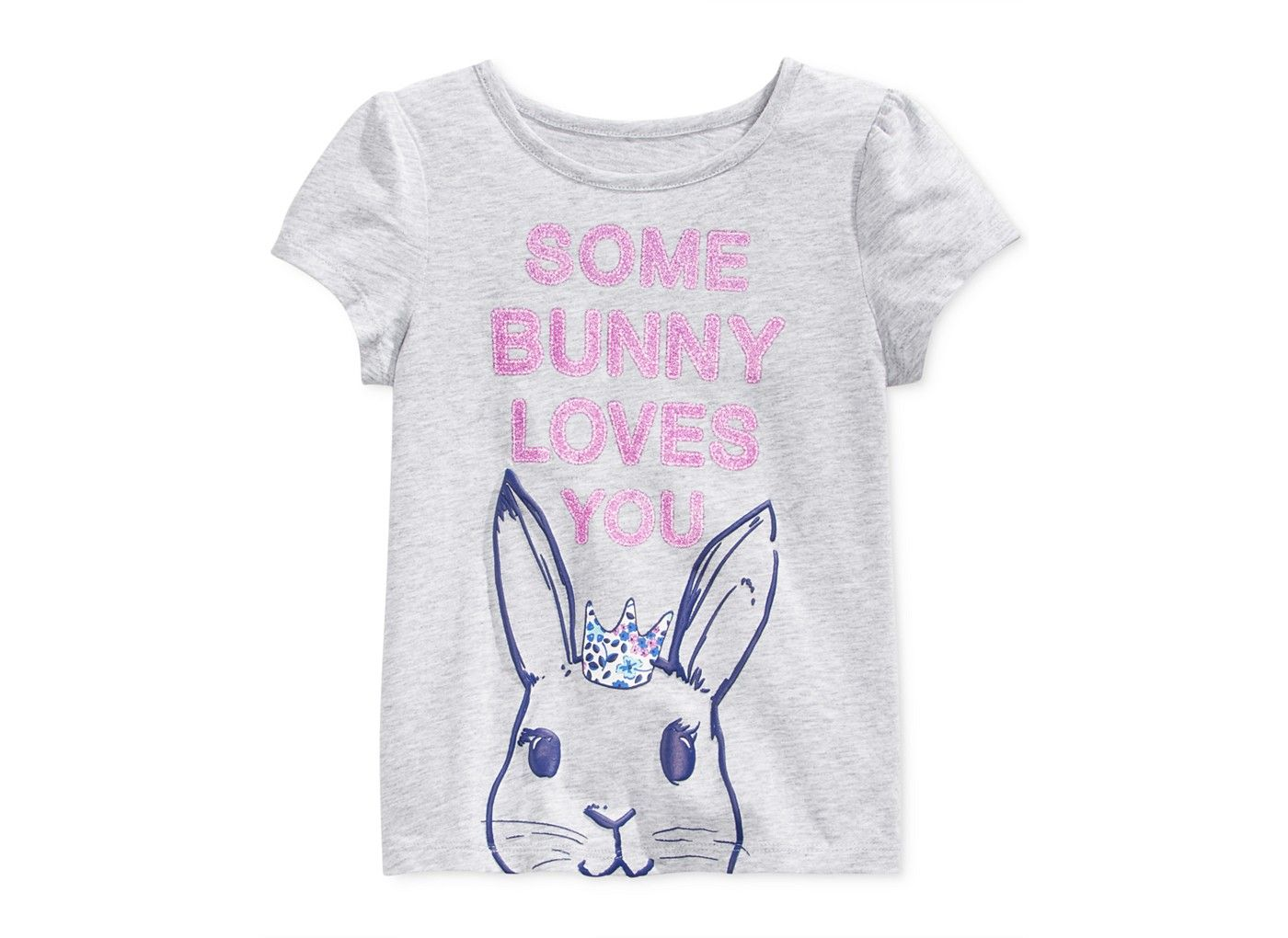 Epic Threads Little Girls' Some Bunny Loves You T-Shirt, Only at Macy's - Girls 2-6X - Kids & Baby - Macy's