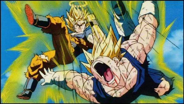 Dragonball Z Majin Vegeta Vs Goku Dragonball Z Gt Super