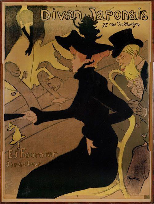 Divan Japonais by Toulouse Lautrec Giclee Canvas Print or Fine Art Poster NEW