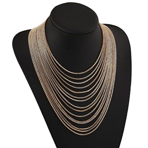 Yazilind European Gorgeous Multi Strand Gold Plated Chain Collar Bib Temperament Necklace Yazilind http://www.amazon.com/dp/B00MXG42US/ref=cm_sw_r_pi_dp_ozpfvb1QJZ1XW