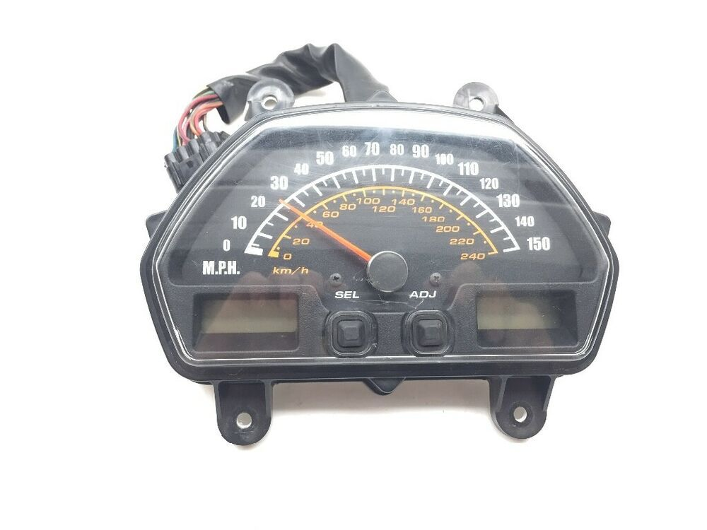 7 Color KOSO RX2N Motorcycle LCD Digital Speed Oil ODO Instrument Assembly
