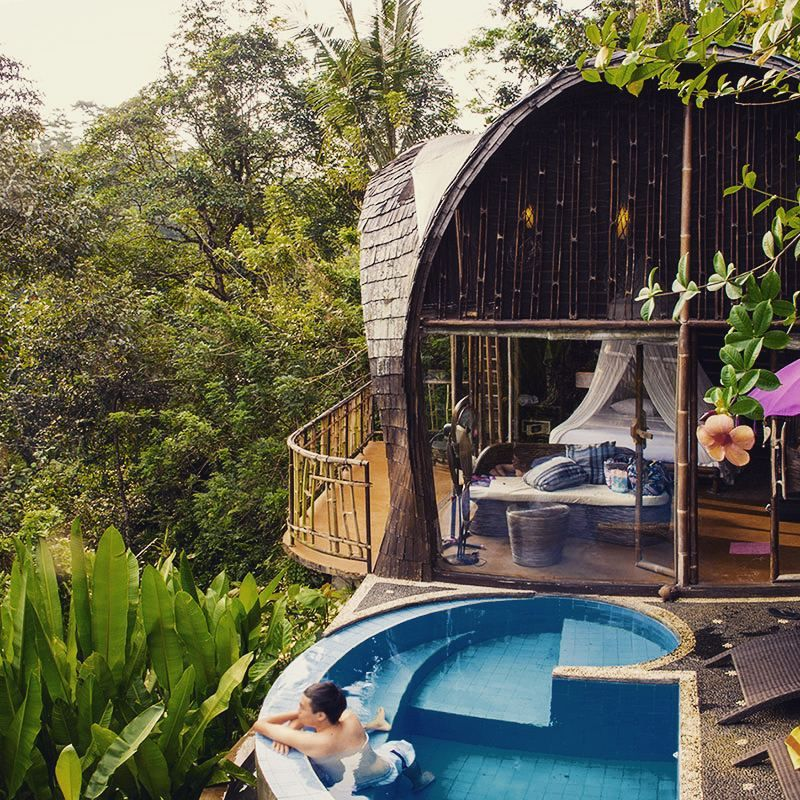13 Unique Hotels In Bali So Cool That You Will Want To Stay Forever Ubud Hotels Bali Honeymoon Villas Bali Honeymoon