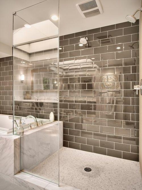 11 Creative Ways To Make A Small Bathroom Look Bigger Modern Master Bathroom Contemporary Bathrooms Bathroom Design