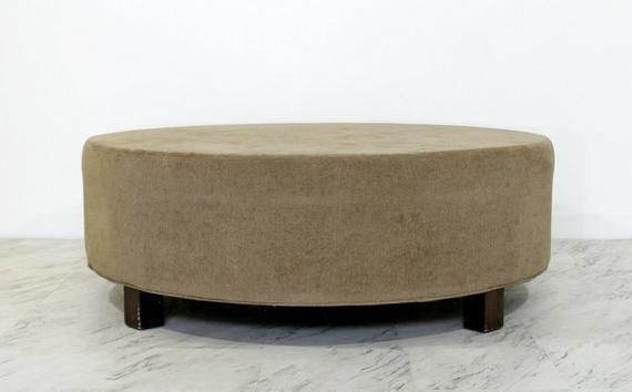 Prime Contemporary Modern Massive Large Round Circular Ottoman Gmtry Best Dining Table And Chair Ideas Images Gmtryco