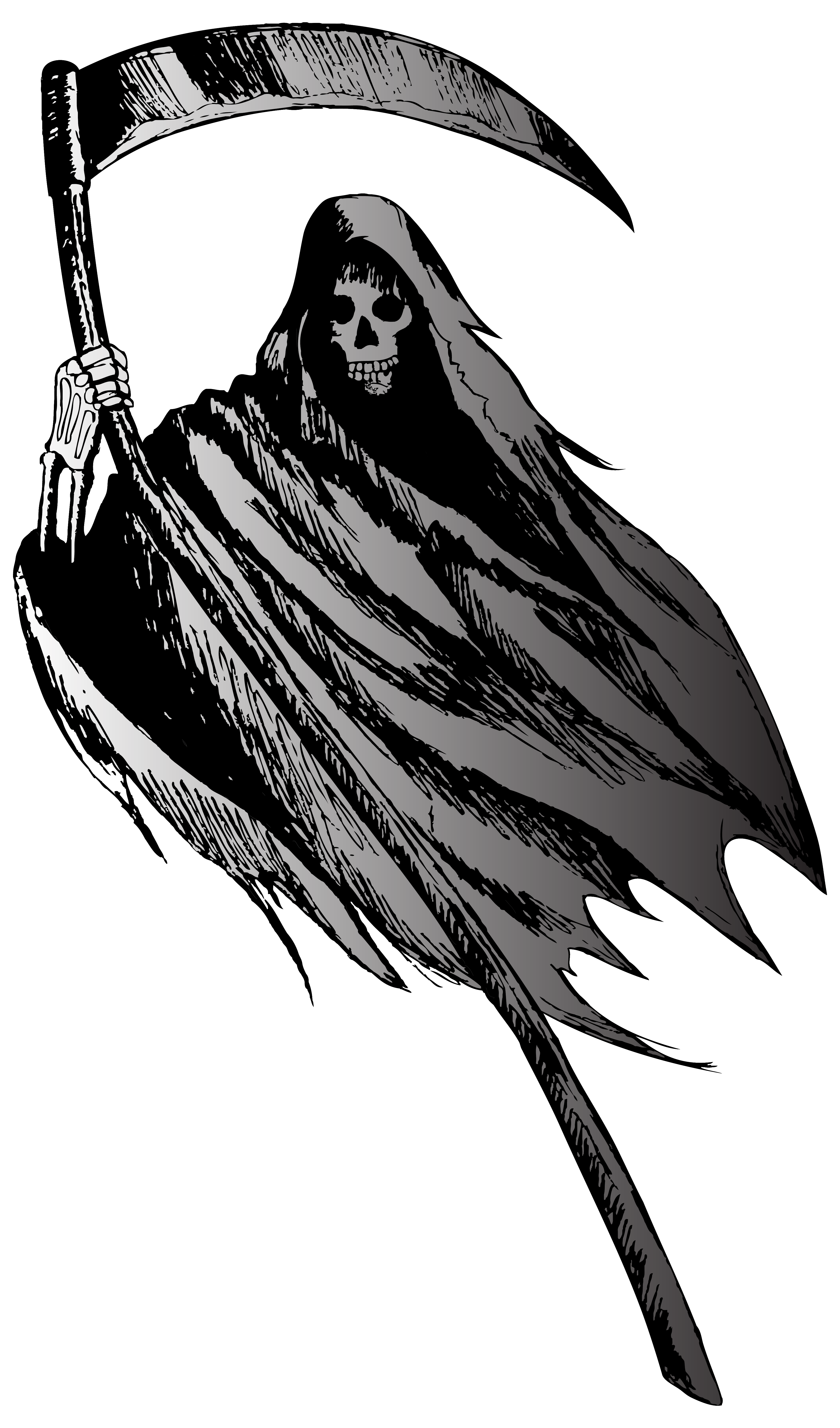 Grim Reaper Png Clipart Image Gallery Yopriceville High Quality Images And Transparent Png Free Clipart Grim Reaper Grim Reaper Art Fairytale Illustration