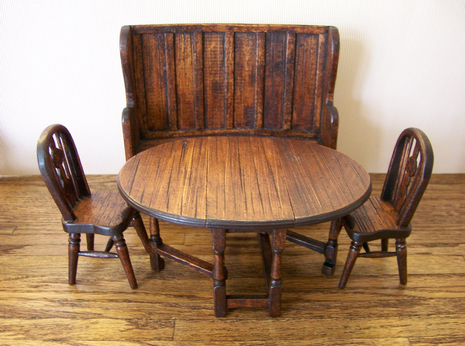 Tudor Style Furniture From Nancy S Dollhouses