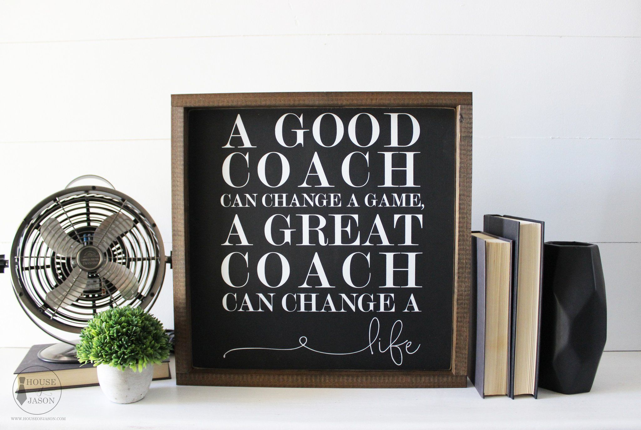 Decorative signs wholesale signs office decor gift for him gifts for husband gifts for boyfriend gift for coach coaches gift house of jason home